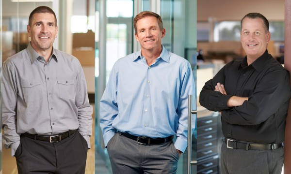 Architects Frank Ternasky, Mike Asaro, and Paul Schroeder were named Principals in 2002.
