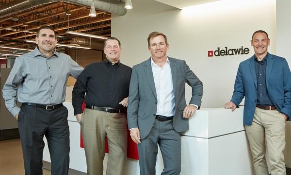 Frank Ternasky, Paul Schroder, Mike Asaro, and Greg McClure, firm Principals.